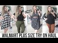 WALMART TRY ON HAUL! 5 Outfits for $80! 😱Plus Size Fashion