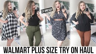 WALMART TRY ON HAUL! 5 Outfits for $80!