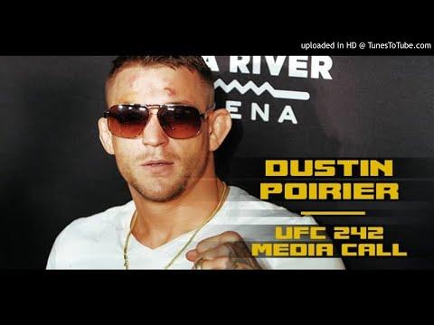 Dustin Poirier UFC 242 media call: Tony Ferguson deserves next title shot