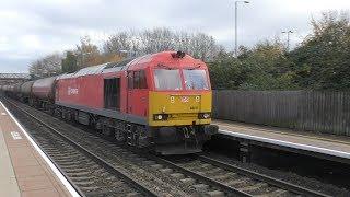 Freight trains & light engine moves at Keynsham Cam & Dursley Yate & more 15th 16th November 2018