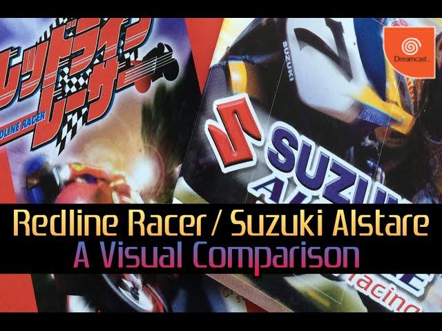 Dreamcast - Redline Racer / Suzuki Alstare Extreme Racing: A Visual Comparison