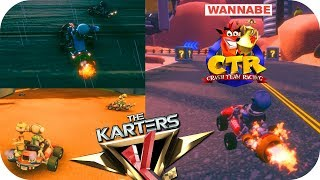 The Karters - Crash Team Racing Wannabe - Gameplay PC