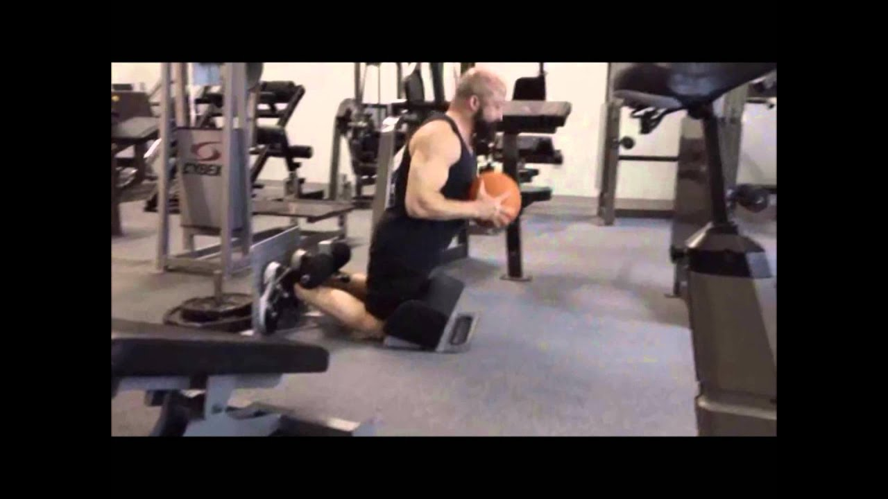 Hanging knee raises with medicine ball - Glute Ham Raises With A Medicine Ball On The Home Ghr