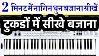 नागिन धुन - अब और भी आसानी से - Harmonium   Piano   Notations  Sur Sangam Guru