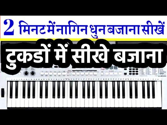 नागिन धुन - अब और भी आसानी से - Harmonium | Piano | Notations  Sur Sangam Guru