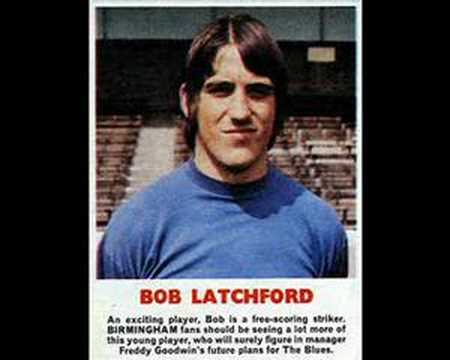 Birmingham City FC Bobby Latchford