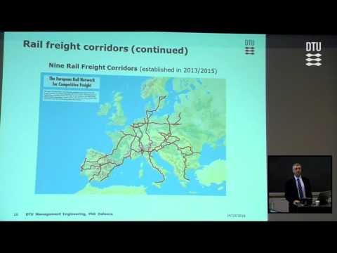 Green corridors in freight logistics