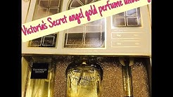 Victoria's Secret angel gold perfume gift set unboxing