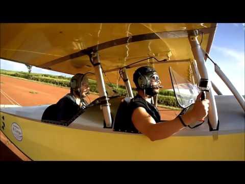 Pouso de Pista - Pietenpol Air Camper