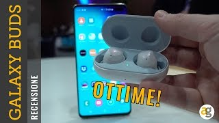 Recensione GALAXY BUDS le CUFFIE TRUE WIRELESS di SAMSUNG