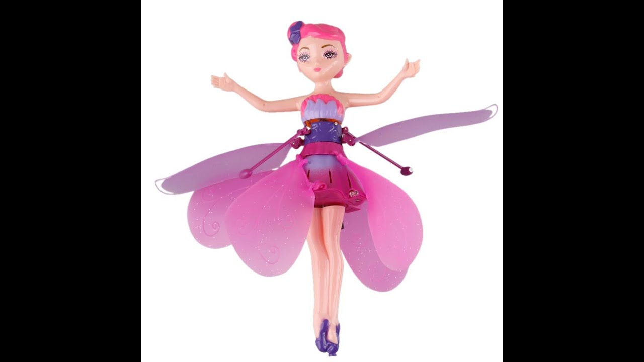 Review Flying Fairy A Girls Blinking Toy With Infrared Control