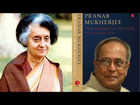 Indira Gandhi didn't know about Emergency - Pranab Mukherjee : TV5 News