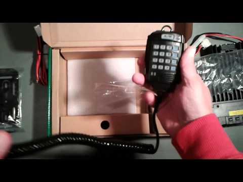 Unboxing Polmar DB-50M radio
