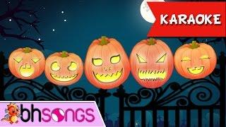 Five Little Pumpkins Nursery Rhymes Top Kids Songs Karaoke