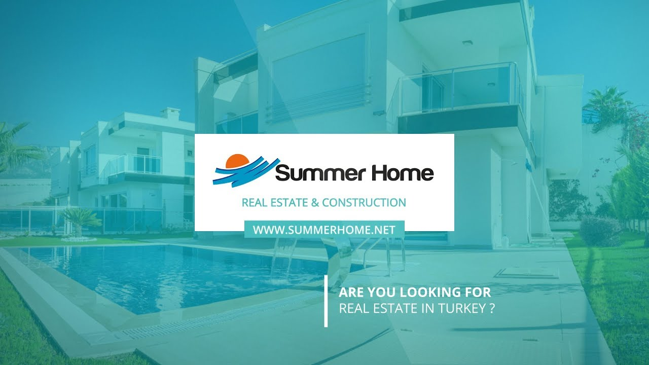 Summer Home Luxury Villa İn Alanya/Turkey - YouTube