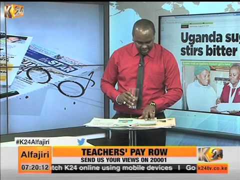 K24Alfajiri Newspaper Review Discussion On The Uganda Sugar Pact
