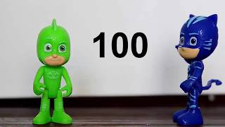 Birer birer ileriye doğru 100'e kadar Ritmik Sayma 1er 1er yüze kadar sayma