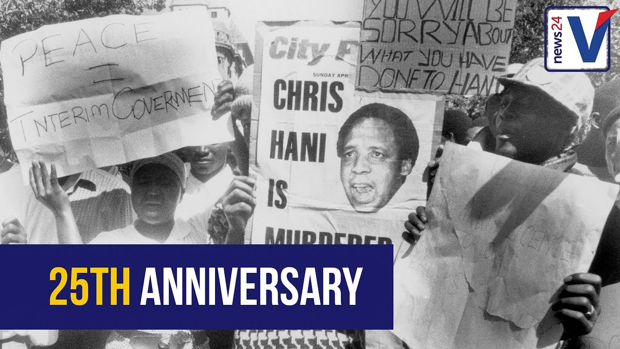 WATCH: Remembering Chris Hani 25 years after his death