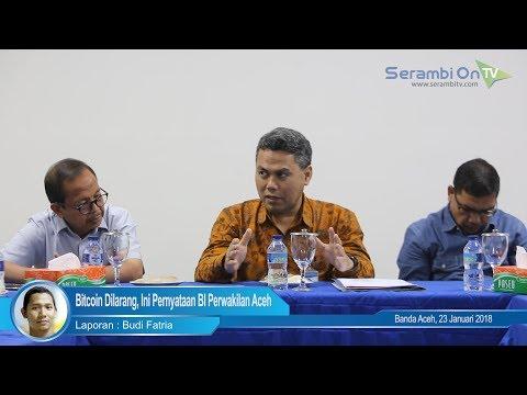 Bitcoin Dilarang, Ini Pernyataan BI Perwakilan Aceh
