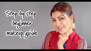 Easy step by step beginner guide to home festival makeup |HINDI | Debina Decodes |