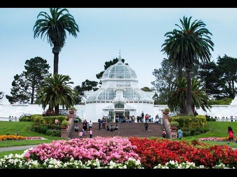 Golden Gate Park Conservatory of Flowers, San Francisco
