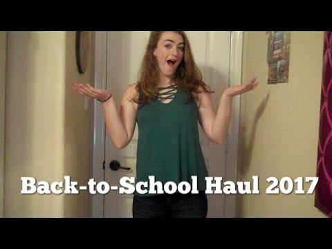 Back To School Try On Haul 2017