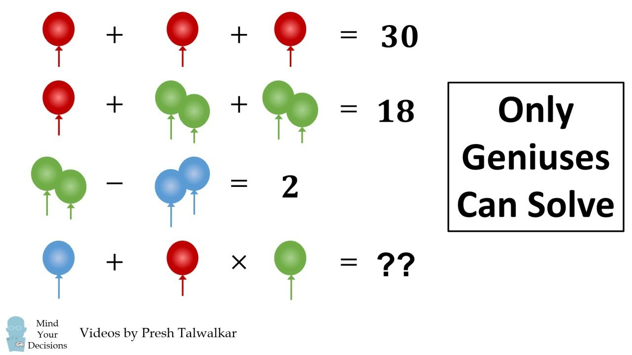 The Viral Balloon Puzzle – The REAL Answer Explained (Using Ph.D. Level Math)