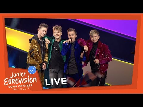 FOURCE - LOVE ME - LIVE - THE NETHERLANDS - JUNIOR EUROVISION 2017