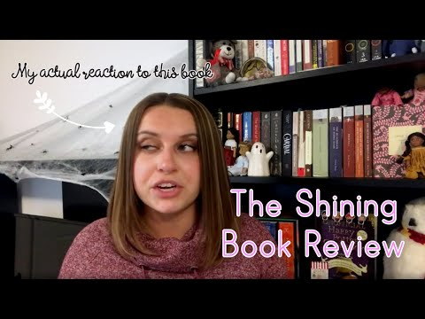 The Shining Book Review + My True Thoughts on Stephen King | jayden.reads