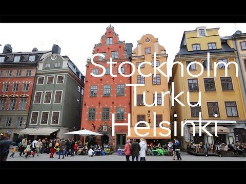 Stockholm - Turku - Helsinki