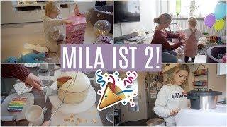 MILAS 2. GEBURTSTAG ❘ Regenbogentorte & Veganer Schokokuchen ❘ Letzte Vorbereitungen ❘ MsLavender