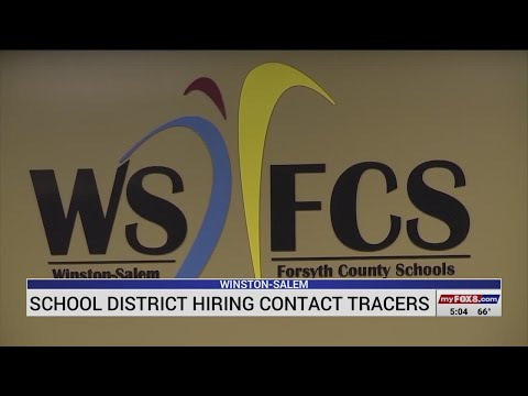 Triad school district to hire its own contact tracers
