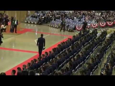 防衛大学校第58期卒業式 帽子投げ 平成26年3月22日