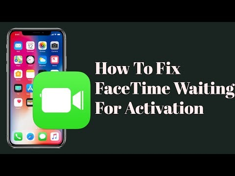 facetime waiting for activation on iPhone ios 12 fixed