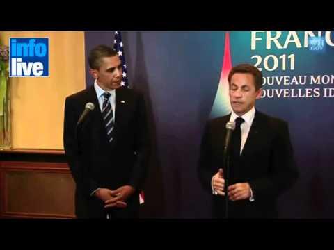 """Sarkozy dijo que Netanyahu es un """"mentiroso"""""""