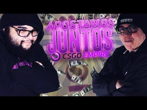 APOSTAMOS JUNTOS NO CSGO EMPIRE