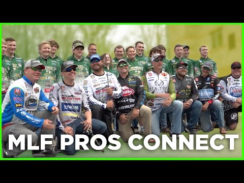 MLF Pros Connect with Rhea County High School Anglers