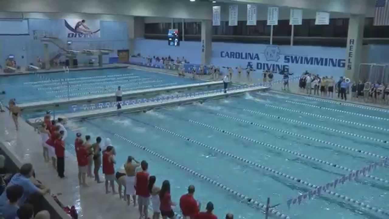 Unc Swimming Amp Diving Recap Vs Georgia Youtube