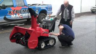 Honda HSM1336iC Hybrid Snowblower at Xtreme Machines in New Jersey