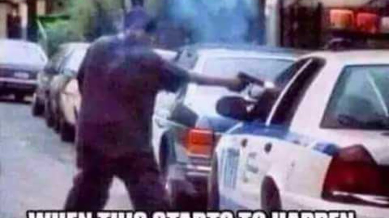 Cops got their homes shot up...So..And???
