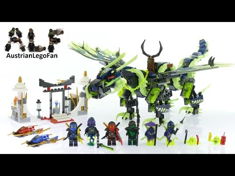 Lego Ninjago 70736 Attack of the Morro Dragon - Lego Speed Build Review