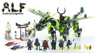 Lego Ninjago 70736 Attack of the Morro Dragon - Lego Speed Build Review thumbnail
