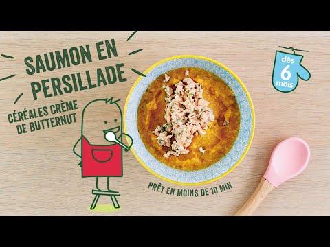 recette-bébé-dès-6-mois-:-saumon-en-persillade,-céréales-crème-de-butternut