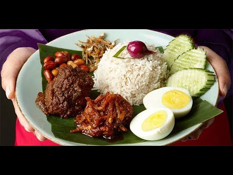 HOW TO COOK NASI LEMAK LATEST 2017 [MALAYSIAN COCONUT RICE]