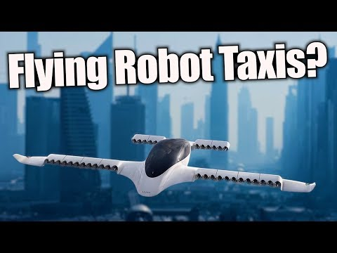 On the Verge of Flying Robot Taxis? | In Depth