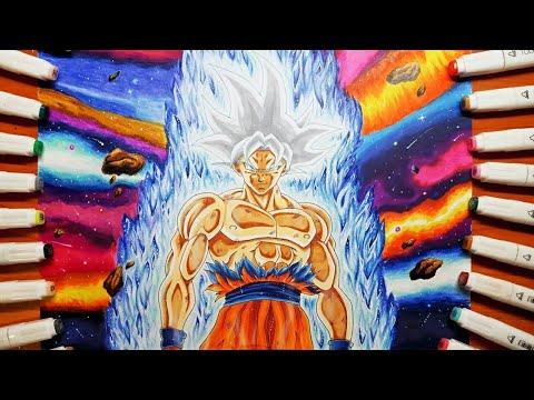 Disegno Goku Ultra Istintodrawing Goku Mastered Ultra Istinct