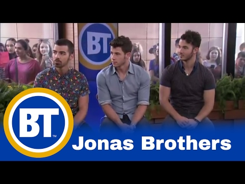 BT EXCLUSIVE - The Jonas Brothers Q&A