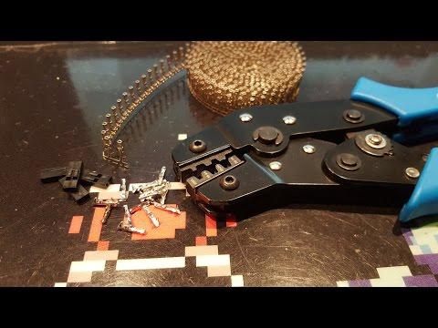 50 conector pin 2.54mm macho cable dupont soldar crimpar Arduino Raspberry DIY