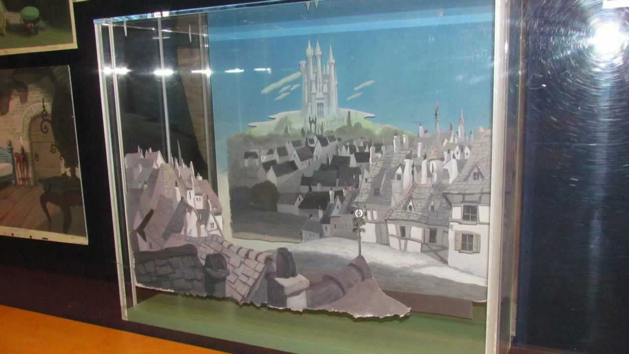 disney's hollywood studios, the art of animation gallery layout and