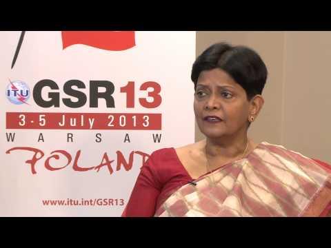 GSR13: Dr Vijayalakshmy Gupta, Member, Telecom Regulatory Authority of India (TRAI) - Interview